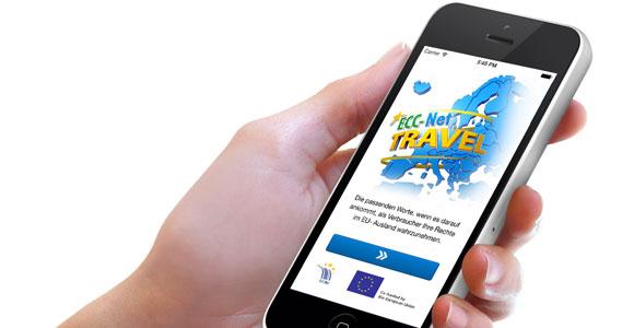 Μια νέα εφαρμογή τηλεφώνου: ECC-Net: Travel App για τους Ευρωπαίους που ταξιδεύουν εξωτερικό