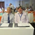 Prof. Anayiotos (Vice-Rector at CUT) and Prof. Gekas (Faculty Dean)