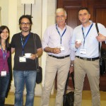 E. Georgiadou, V. Fotopoulos, A. Manganaris and  A. Molasiotis during coffee break