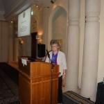 Susan Lurie during her keynote talk