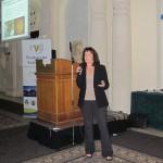 Elizabeth Mitcham (UCDavis) during her keynote talk (COST