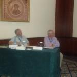 Dov Prusky and Jim Adaskaveg, moderators of postharvest pathology session