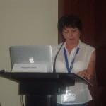 Prof. Serek during her oral presentation