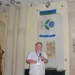 Peter Toivonen during ISHS business meeting