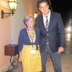 Ilaria Miganni and George Manganaris during the Gala dinner