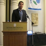 George Manganaris, Convenor, during his welcome speech