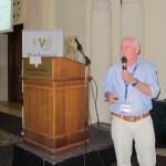 Ron Porat (Volcani, Israel) during his oral presentation